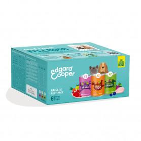 Edgard & Cooper Multipack 6x400g de Comida Húmeda Perros. Pollo, Venado y Cordero