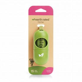 Earth Rated Dispensador 15 bolsas con aroma a lavanda