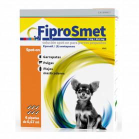 FiproSmet Pipetas Antiparasitarias para perros