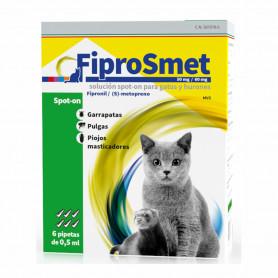 FiproSmet Pipetas Antiparasitarias para gatos