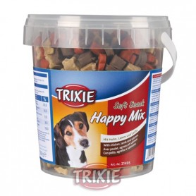 Bote Soft Snack Happy Mix,500 g,pollo,salmón,corde