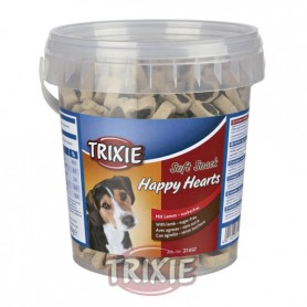 Bote Soft Snack Happy Hearts, 500 g, Cordero-Arroz