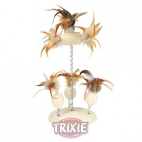 Stand-Sisal juguete sobre muelles, ø 15x30 cm