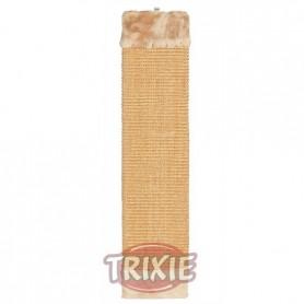 Tabla rascadora con peluche, 15x62 cm, Marrón