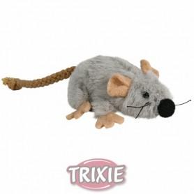 Ratón de juego con catnip, Peluche, 7 cm