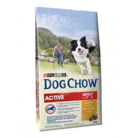 Dog Chow Active Pollo