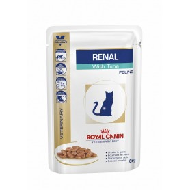comida húmeda para gatos Royal Canin Veterinary Diet Renal (Atún)