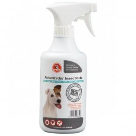 Pulverizador insecticida, antiparasitario para perros