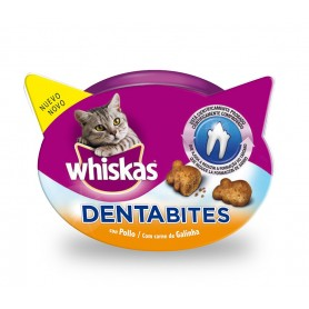 Whiskas Dentabites con pollo, Snacks para gatos
