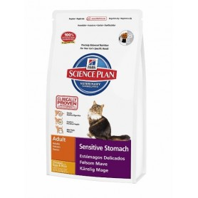 Hill's Science Plan Feline Adult Sensitive Stomach, pienso para gatos