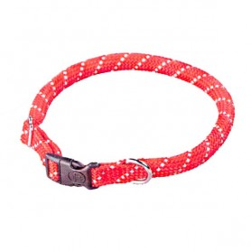 Collar Nylon Redondo Reflectante