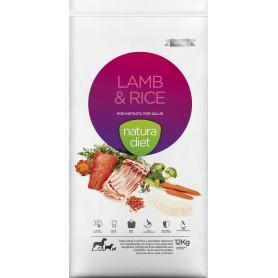 Natura Diet Lamb & Rice, pienso para perros naturales