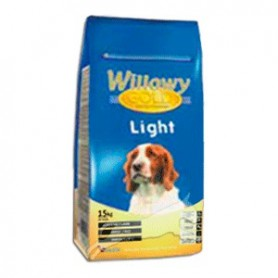 Willowy gold Light, pienso completo para perros con sobrepeso