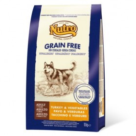 Nutro Natural Choice Grain Free Adult Pavo, pienso para perros naturales