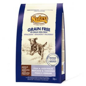 Nutro Natural Choice Grain Free Adult Pescado, pienso para perros naturales