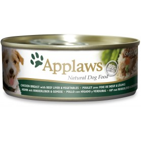 Applaws Dog Pollo con hígado y verduras