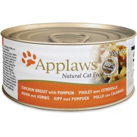 Applaws Cat lata pollo y calabaza