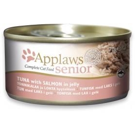 Applaws Cat Senior lata atún con salmón
