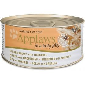 Applaws Cat Jelly lata pollo y caballa