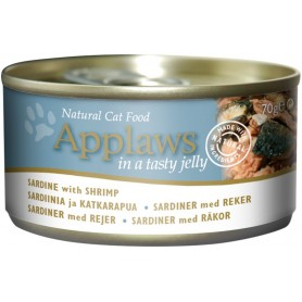 Applaws Cat Jelly lata sardina y gamba