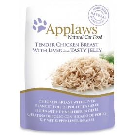 Applaws Cat Jelly Pouch pollo con hígado