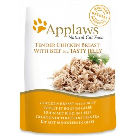 Applaws Cat Jelly Pouch pollo y ternera
