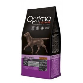 Optima Nova Adult Large Chicken & Rice, pienso para perros naturales