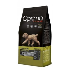 Optima Nova Adult Mini Rabbit & Potato, pienso para perros naturales