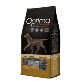 Optima Nova Adult Large Chicken & Potato, pienso para perros naturales