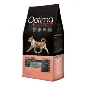 Optima Nova Adult Mini Salmon & Potato, pienso para perros naturales