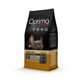 Optima Nova Adult Mini Chicken & Potato, pienso para perros naturales