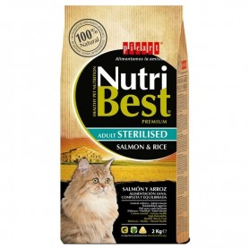 Picart NutriBest Cat Sterilised Salmon & Rice