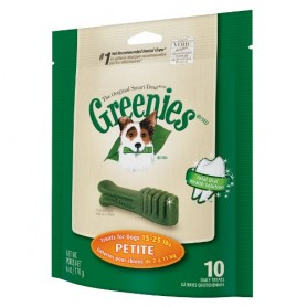 Greenies Petite, Snacks para perros, Higiene bucal