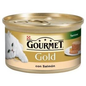 comida húmeda Purina Gourmet Gold Tarrine con Salmón