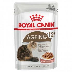 Comida húmeda para gatos Royal Canin Ageing +12 para gatos