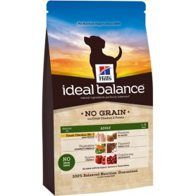 Hill's Ideal Balance Adult con Pollo y Arroz, pienso para perros naturales
