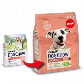 Pienso Dog Chow Sensitive Salmón y Arroz
