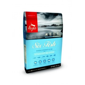 Pienso natural Orijen Six Fish Cat para gatos