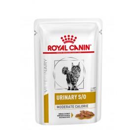comida húmeda Royal Canin Urinary S/O Moderate Calorie Sobre Gato