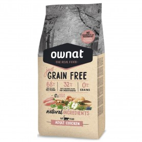 Ownat Just Grain Free Adult Chicken Cat