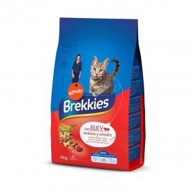 Pienso Brekkies Cat Buey, Ternera y Verdura
