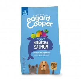 Edgard & Cooper, pienso sin cereales con salmón fresco para perros adultos