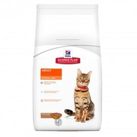 Pienso Hill's Science Plan Feline Adult Optimal Care Cordero para gatos