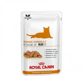 Royal Canin Vet Care Senior Consult Stage 2, Comida húmeda para gatos