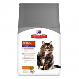 Pienso Hill's Science Plan Feline Mature Adult 7+ Hairball