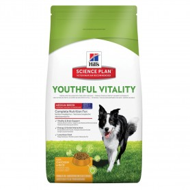SP Canine  Adult 7+  Youthful Vitality Medium Breed con Pollo y Arroz