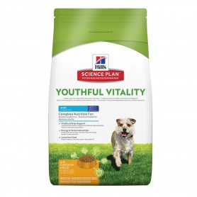 SP Canine  Adult 7+  Youthful Vitality Mini con Pollo y Arroz