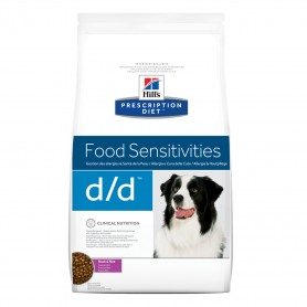 Hill's Prescription Diet Canine d/d pato y arroz, pienso veterinario