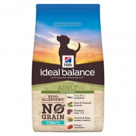 Hill's Ideal Balance Adult No Grain con Atún y Patata, pienso para perros naturales