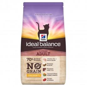 Pienso natural Hill's Ideal Balance Feline Adult No Grain con atun y Patata